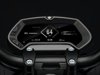 Electronic Motorcycle UI simple design simple clean interface elegant design elegant font elegant ui  ux ui design uidesign uiux ui motorbike zero motorcycles motorcycles motorsport motorcycle