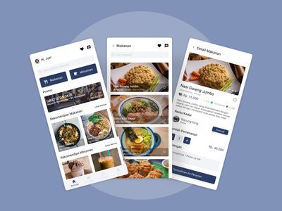 Delivery Mobile App food and drink food app minimal ux food delivery ui design app mobile app