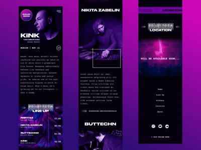 Boiler room party design concept brutalism brutal nightlife nightclub musician dj music amusement entertainment party concept uidesign moscow bulgaria