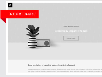 Bodo - Beautiful Agency & Portfolio Theme