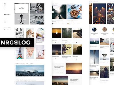 NRGblog - Clean WordPress Blog Theme