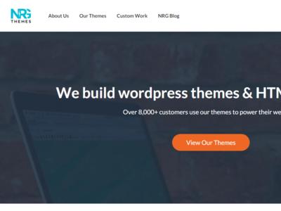 NRGThemes Website