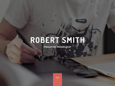 Robert Smith - Responsive Resume / CV Theme