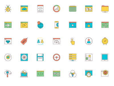 Mega Template and Icon Bundle by NRGThemes