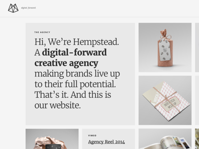 Hempstead – Responsive Portfolio Theme