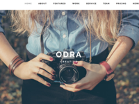 ODRA - Creative Multi-Purpose WordPress Theme