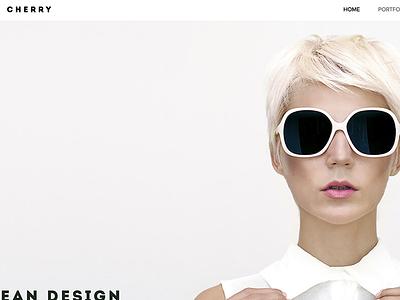 Cherry - Responsive Portfolio WordPress Theme corporate modern minimal studio shop portfolio photos photography multipurpose gallery freelancer agency