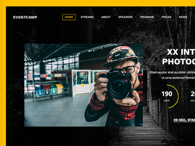 EventCamp - MultiPurpose Conference WordPress Theme portfolio photos photography party meeting gallery exhibition event conference concert business