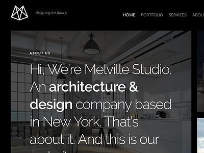 Melville – Architect Builder WordPress Theme wordpress houses homes design decor construction business buildings building builder architecture architect