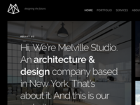Melville – Architect Builder WordPress Theme