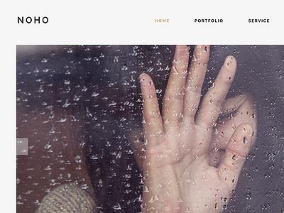 Noho - Creative Agency Portfolio WordPress Theme stylish portfolio photography parallax one page muse multi-purpose modern minimal creative corporate agency