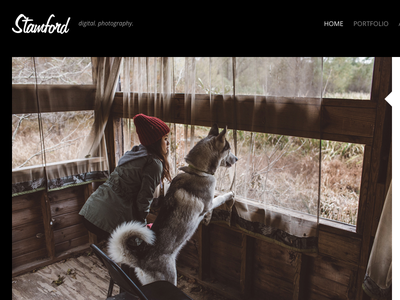 Stamford – Creative Photography WordPress Theme responsive portfolio photography photographer photo modern minimal masonry lightbox gallery agency