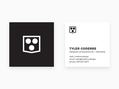 Coderre Design Business Cards
