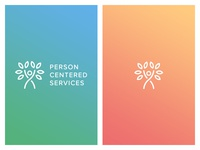 Person Centered Services Logo Gradients