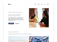19 IDEAS Homepage Redesign