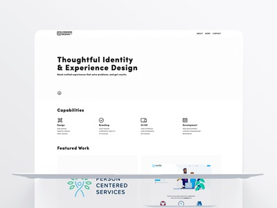 Coderre Design Homepage