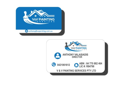 business card type branding art vector graphic design design