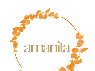 AMANITA illustrator minimal branding vector logo illustration design