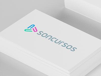 Soncursos logo branding