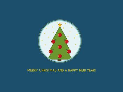 Merry Christmas christmas merry christmas new year tree blue