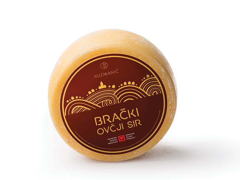 Brac sheep cheese sheep cheese brač brac croatia gastronomy food tradition