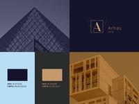 Arhas branding [logo]