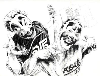 Insane Clown Posse drawing