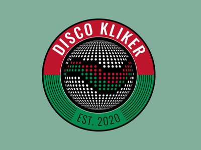Disco Kliker Logo branding agency branding design brand identity branding logo design logodesign logo