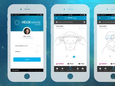 Helix Nebula App