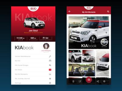 KIAbook - social brand net car