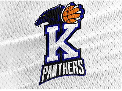 Kipp Panthers Middle School Basketball Team Logo