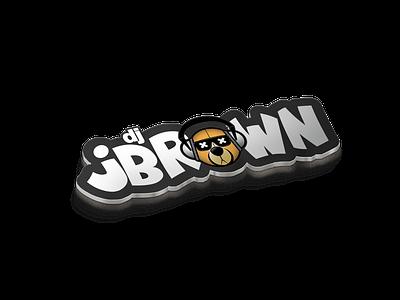 Logo Design for Dj jBrown vector art ux ui icon logo minimal graphic design design branding