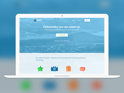 Spire Landing Page