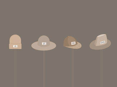 Add To Your Hat Collection tips tricks hacks design article medium hat beanie illustration hats