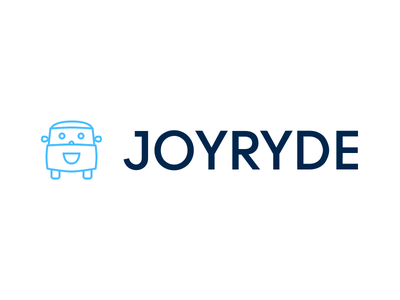 JOYRYDE joy branding stay safe driving app app logo