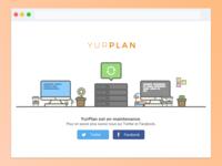 Server Upgrade & Server Down - Yurplan