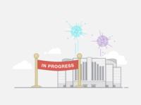 Event In Progress - Illustration