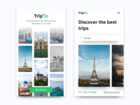 Onboarding Discover Trips