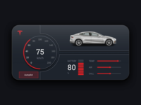 Car Interface Tesla
