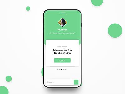 ToDo List dailyui mobile application android ios ux design todo list todolist todo startup ui