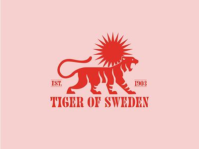 Tiger Logo typography brand identity icons logo branding graphic design