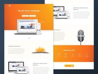 Webdesign Pitch Landing Page