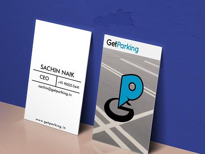 Getparking Logo Design