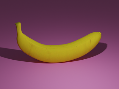 3D Banana fruit bananas banana blender3d 3dmodeling design 3d art