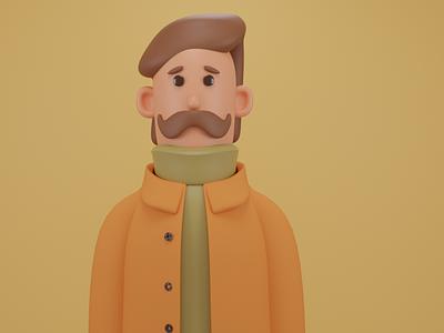 3D Character character persona avatar 3d blender blender3d 3dmodeling design 3d art