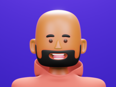 3D self-portrait 3dcartoon avatar 3d blender blender3d 3dmodeling design 3d art
