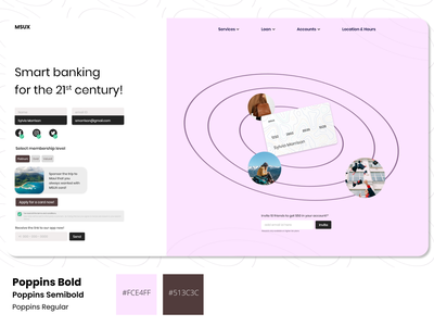 Frame 2 darkpattern smartbanking creditcard bank app bank webdesign website dailyui ui daily ui design