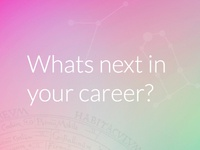 What's next in your career?
