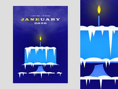 Jane 2020 texture vector poster illustration type graphic typography design