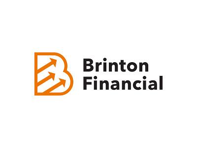 Brinton Financial branding logo vector type graphic typography design